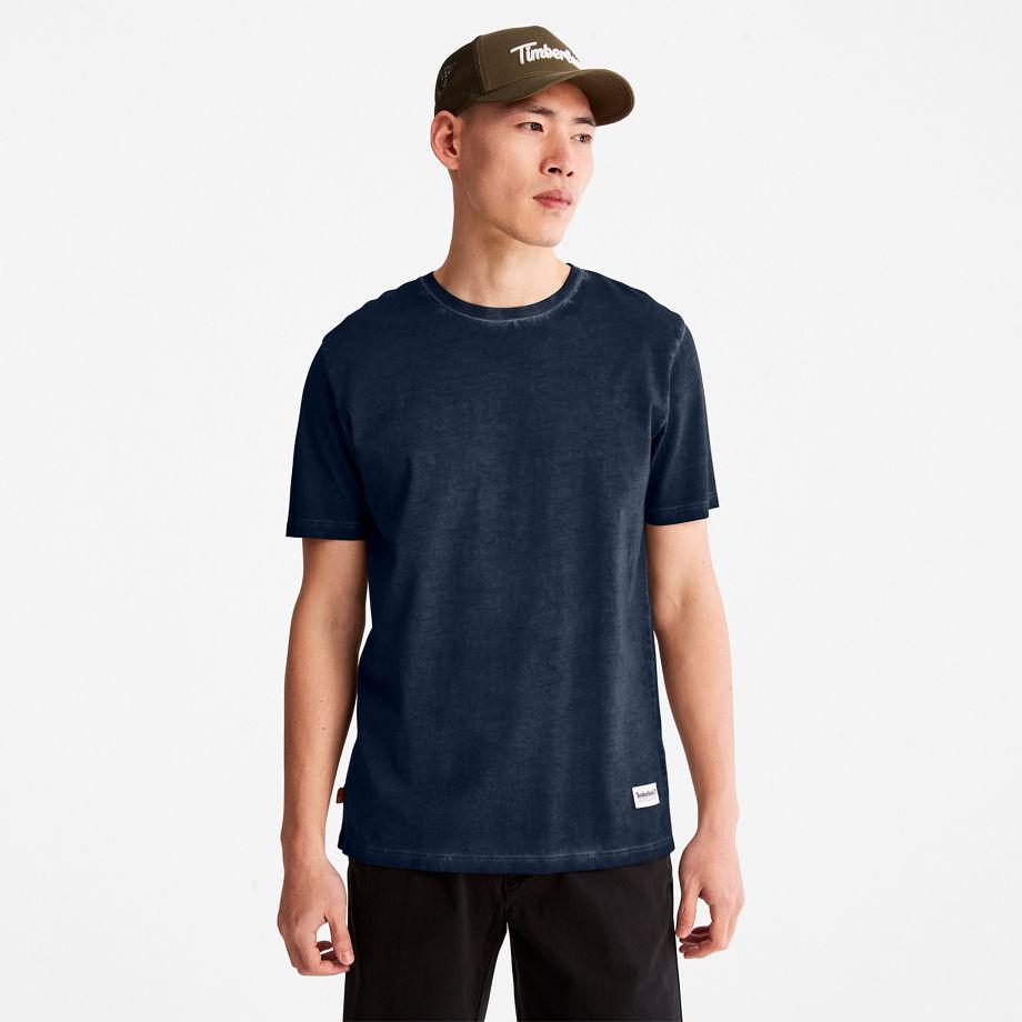 T-shirt Lamprey River En Marine , Taille L - Timberland - Modalova