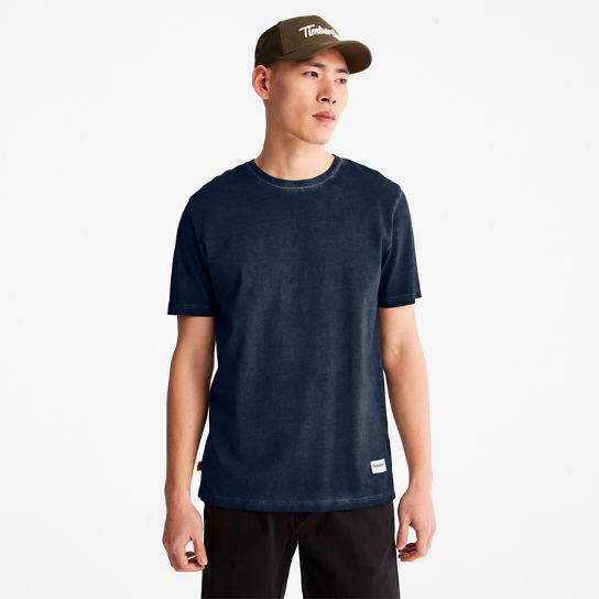 Lamprey River T-shirt for Men in Navy | Timberland