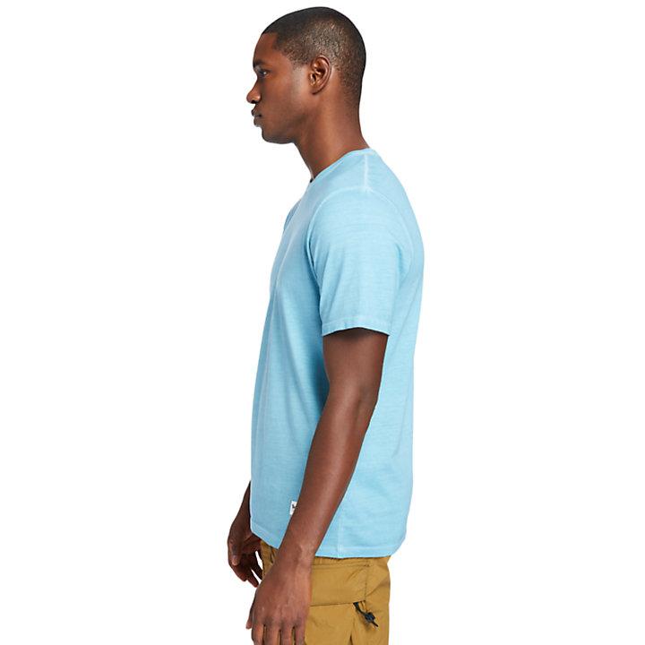 Lamprey River T-shirt for Men in Teal-