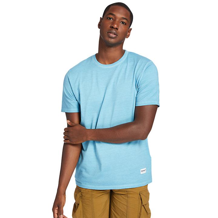 T-shirt Lamprey River pour homme en bleu sarcelle-
