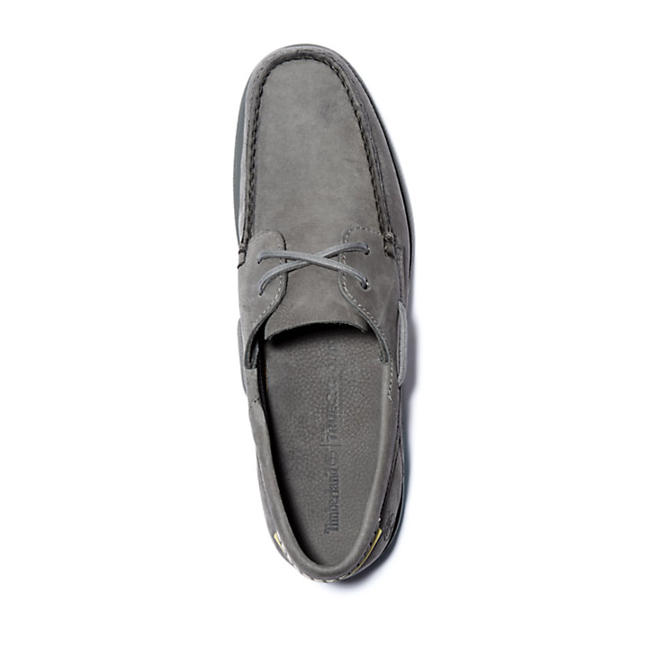 Atlantis Break Boat Shoe for Men in Grey-