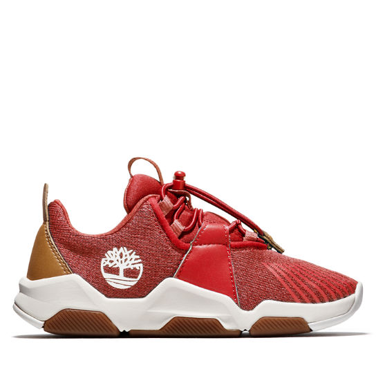 Earth Rally Oxford for Junior in Red | Timberland