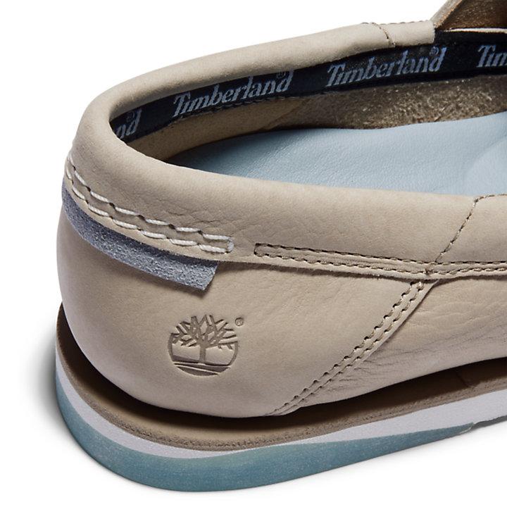 Chaussure bateau Atlantis Break pour homme en beige-