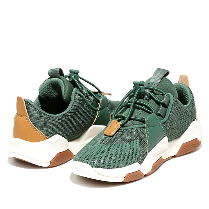 Earth Rally Sneaker for Toddler in Green-