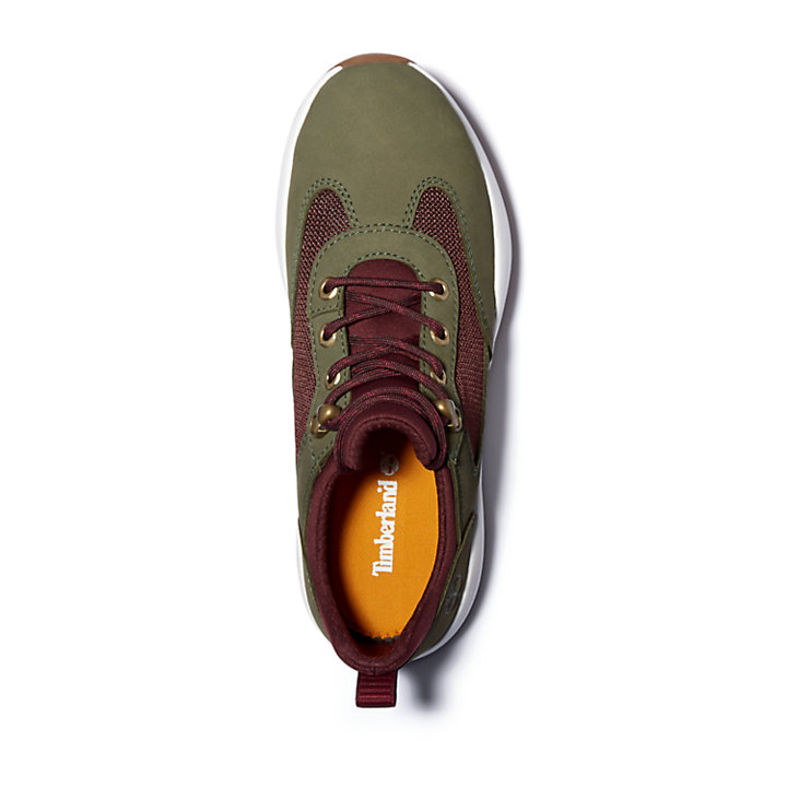 Boroughs Project Sneaker Boot for Women in Green-