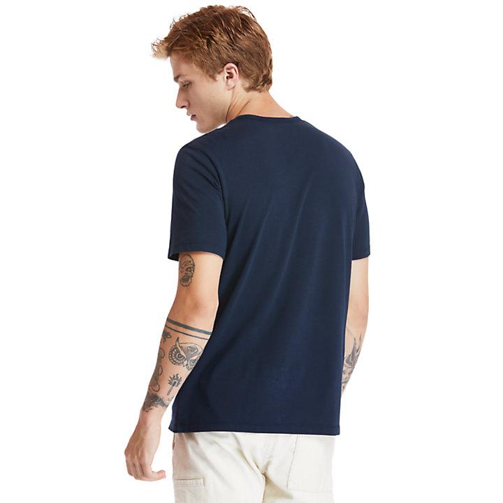 Timberland® Heritage T-shirt voor heren in marineblauw-