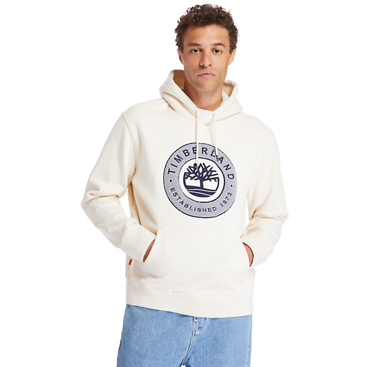 Little Cold River Hoodie for Men in Beige-