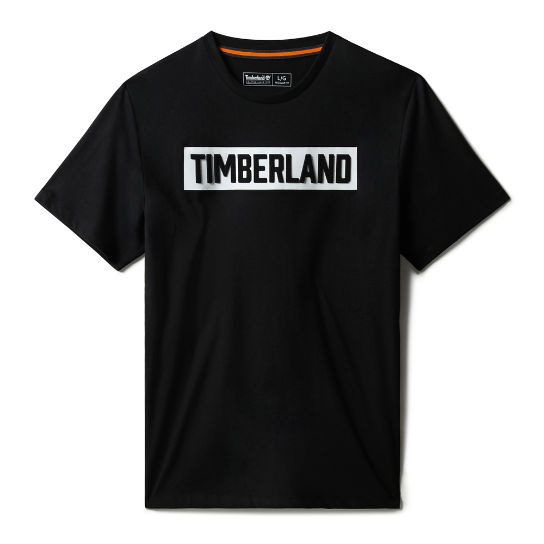 Mink Brook 3D-embossed T-Shirt for Men in Black | Timberland