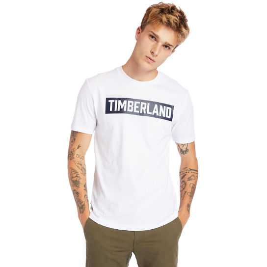 Mink Brook 3D-embossed T-Shirt for Men in White | Timberland