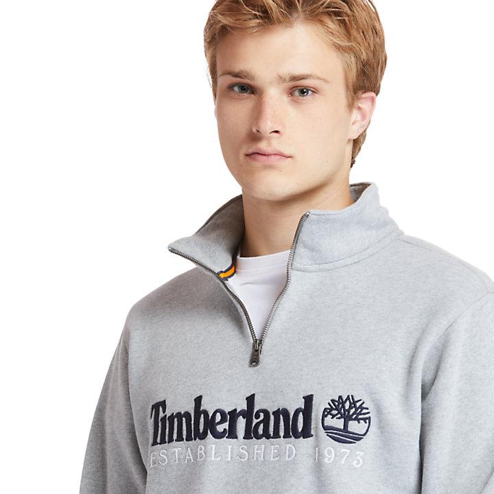 Outdoor Heritage Sweatshirt for Men in Grey-