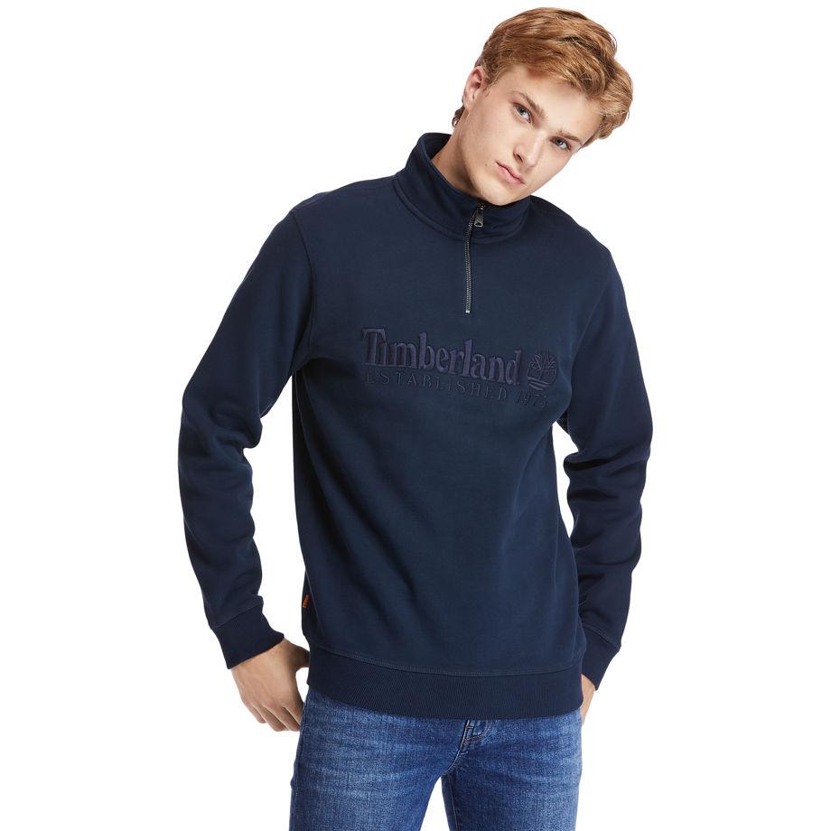 Sweat-shirt Outdoor Heritage En Marine Marine, Taille L - Timberland - Modalova
