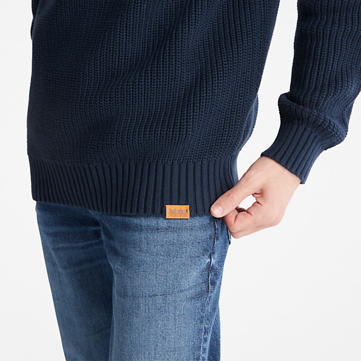 Beards Brook Sweater for Men in Navy-