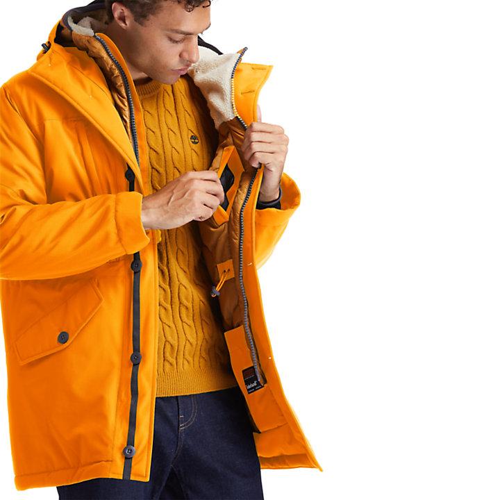 Heritage Ecoriginal DryVent™ Parka for Men in Orange-