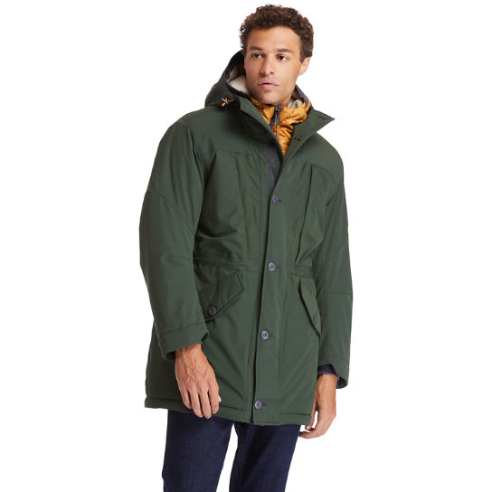 Heritage Ecoriginal DryVent™ Parka for Men in Green | Timberland