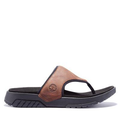 Sandalo Infradito da Uomo Anchor Watch in marrone