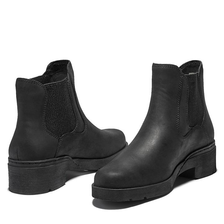 Bota Chelsea Graceyn para Mujer en color negro-