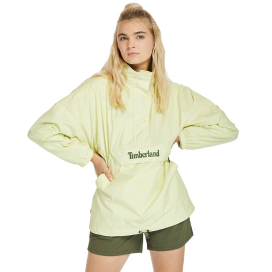 Packable Colour-block Anorak for Women in Light Green | Timberland