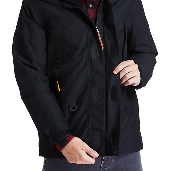Chaqueta Mountain Trail para Hombre en color negro-
