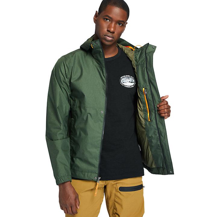 Outdoor Heritage Windbreaker for Men in Dark Green-