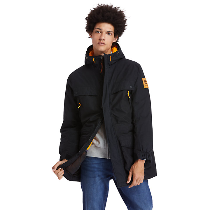 Outdoor Heritage Expedition parka voor heren in zwart-