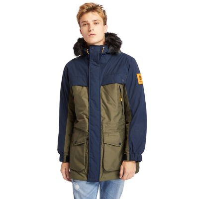 Outdoor+Heritage+Expedition+Parka+for+Men+in+Navy%2FGreen