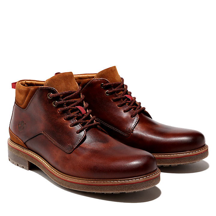 Chukka da Uomo Oakrock in marrone-
