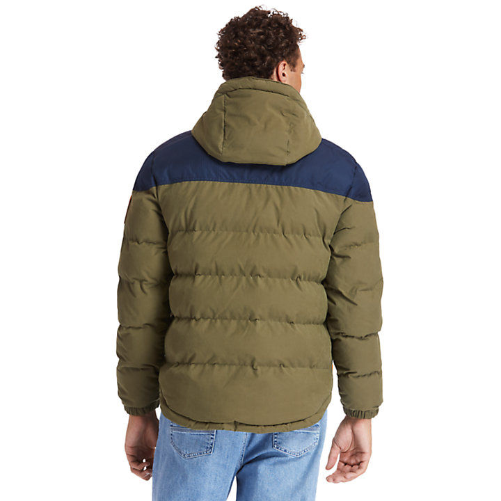 Welch Mountain Warm Puffer Jacket for Men in Green-