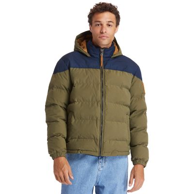 Welch+Mountain+warme+Steppjacke+f%C3%BCr+Herren+in+Gr%C3%BCn