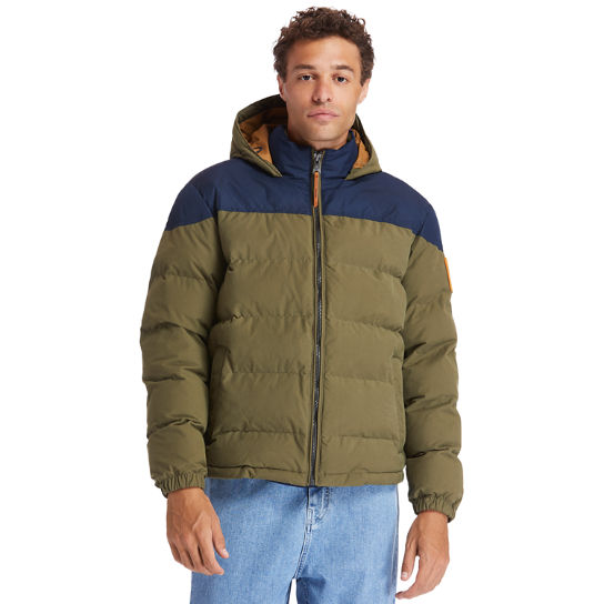 Welch Mountain Warm Puffer Jacket for Men in Green | Timberland