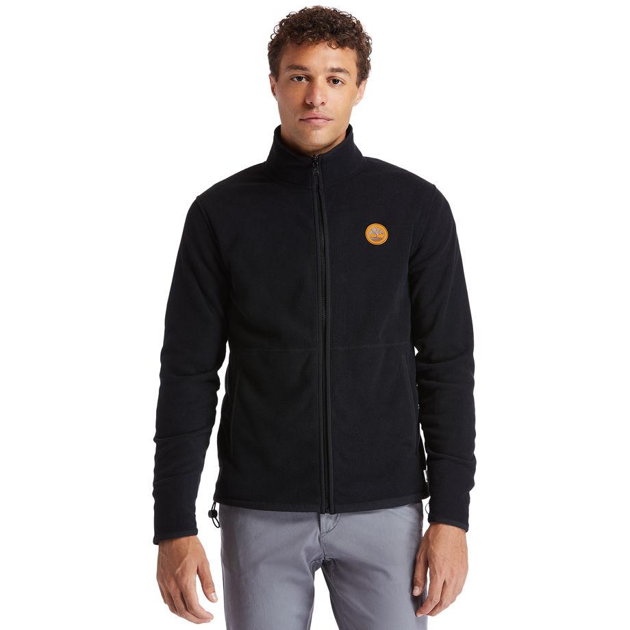 Timberland® Heritage Fleece Jacket For Men In Black Black, Size XL