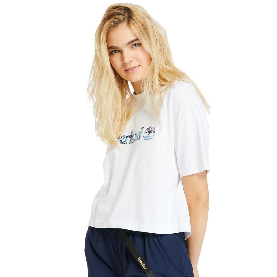 T-shirt Court Piqué En , Taille L - Timberland - Modalova