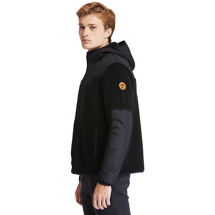Ecoriginal Fleece Jacket for Men in Black-