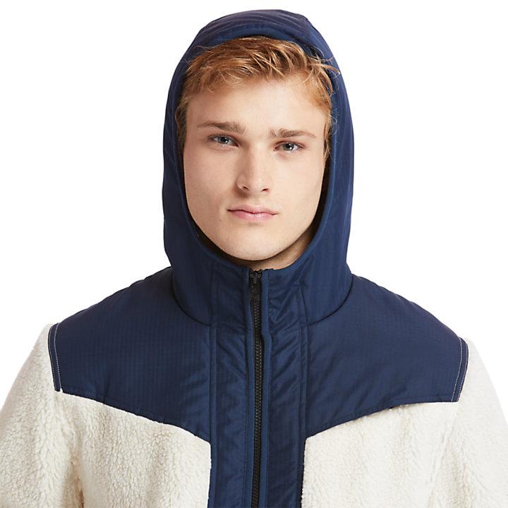 Ecoriginal Fleece Jacket for Men in Navy-