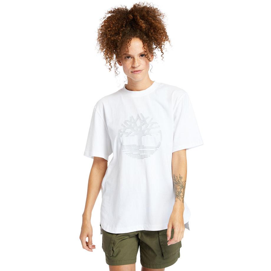 T-shirt Oversize À Logo Réfléchissant En , Taille XS - Timberland - Modalova