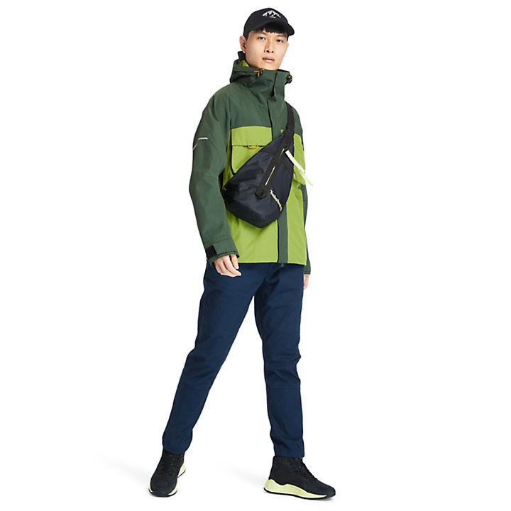 Ecoriginal Waterproof Jacket for Men in Green-