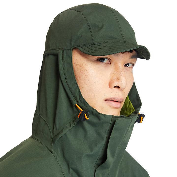 Giacca Impermeabile da Uomo Ecoriginal in verde-