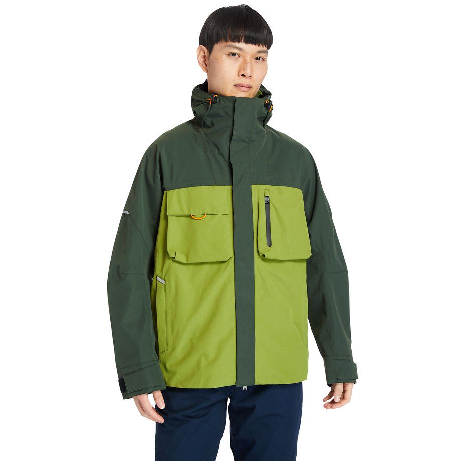 Timberland Ecoriginal Waterproof Jacket For Men In Green Green, Size XXL