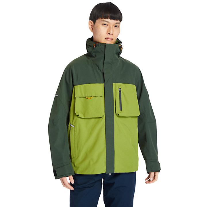 Veste imperméable Ecoriginal pour homme en vert-