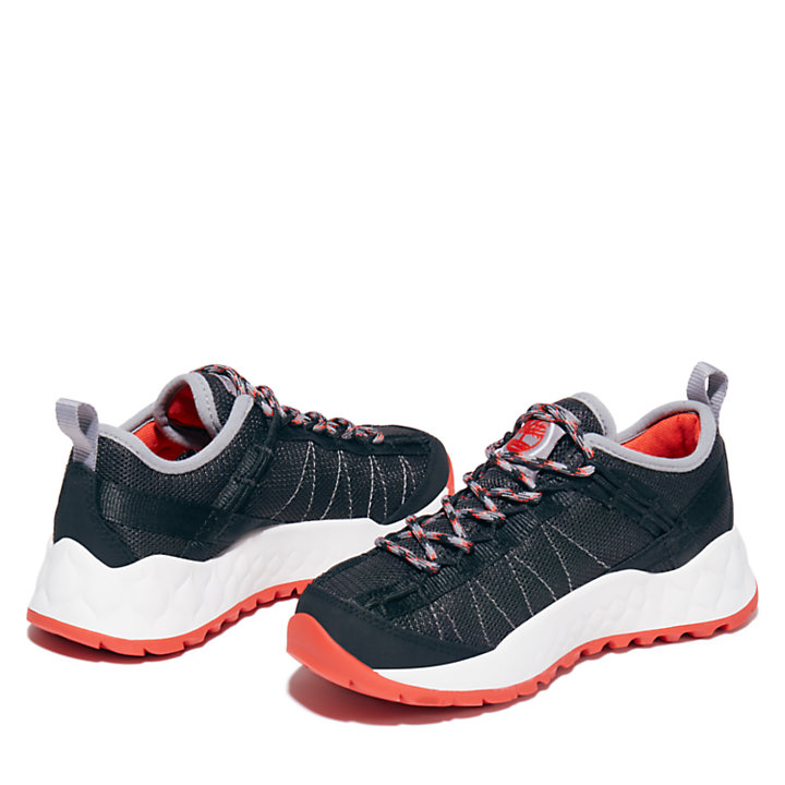Solar Wave Hiker for Youth in Black-