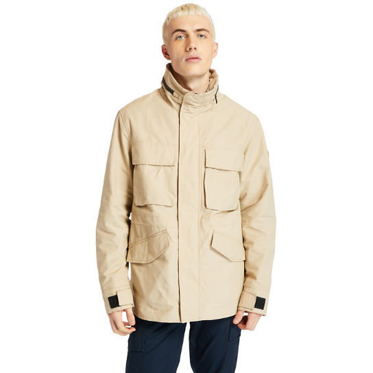 Outdoor Heritage Field Jacket for Men in Beige | Timberland