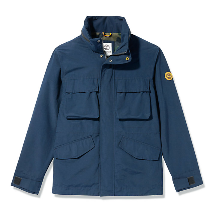 Outdoor Heritage Field Jacket for Men in Navy-