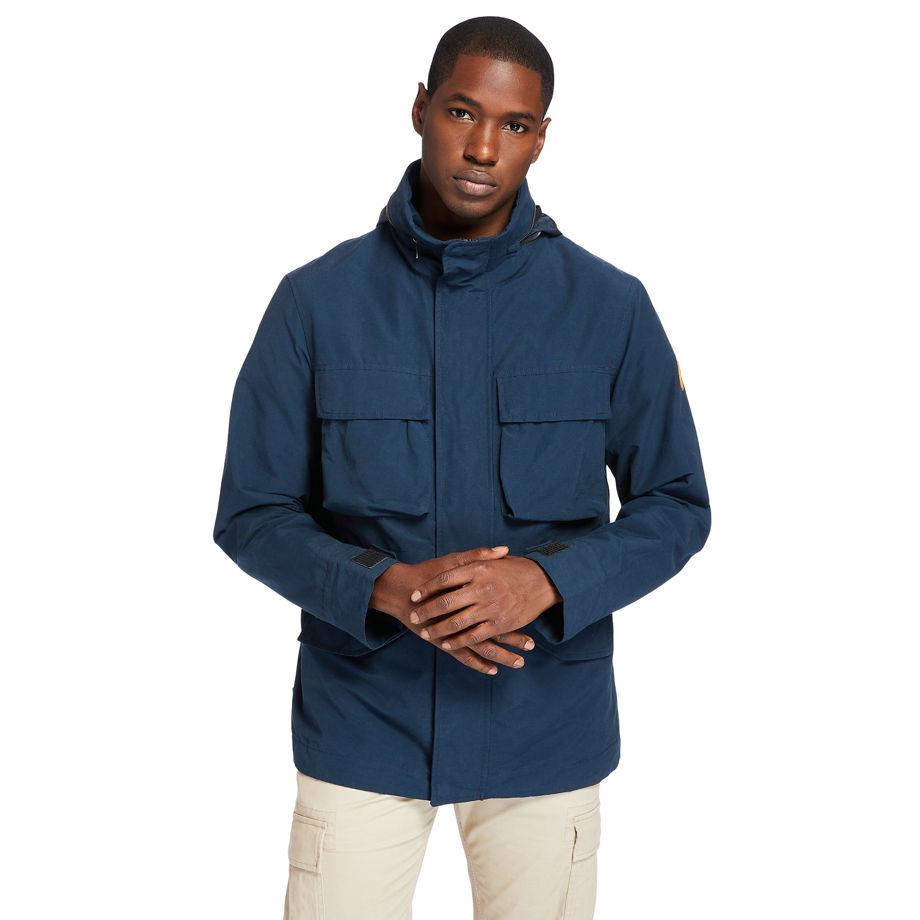 Timberland Outdoor Heritage Field Jacket For Men In Navy Navy, Size XXL