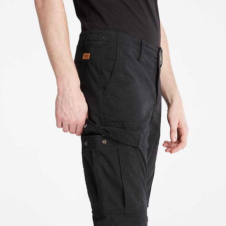 Pantalon cargo Squam Lake pour homme en noir-