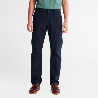 Squam+Lake+Cargo+Trousers+for+Men+in+Navy