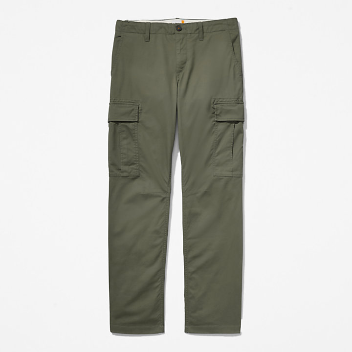 Pantaloni Cargo da Uomo Squam Lake in verde scuro-