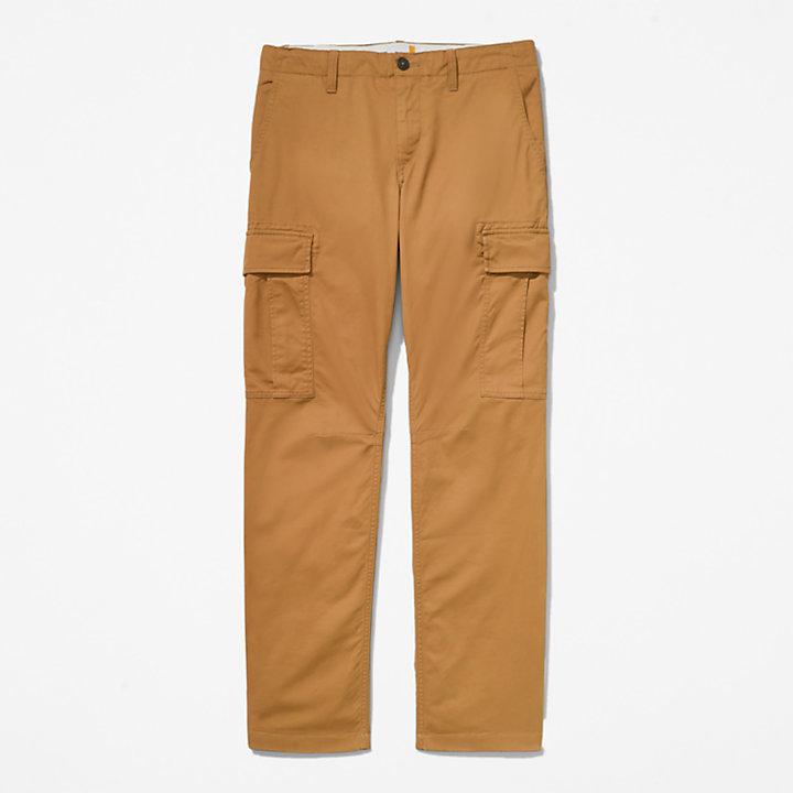 Squam Lake Cargobroek voor heren in geel-