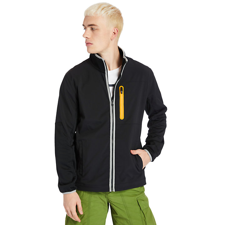 Field Trip Hybrid Jacket for Men in Black-