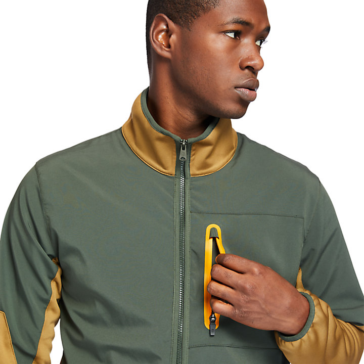 Field Trip Hybrid Jacket for Men in Green-
