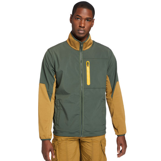 Field Trip Hybrid Jacket for Men in Green | Timberland