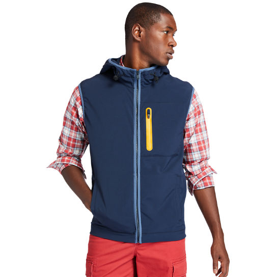 Field Trip Hybrid Vest for Men in Navy | Timberland